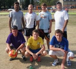 Winning team in Bath